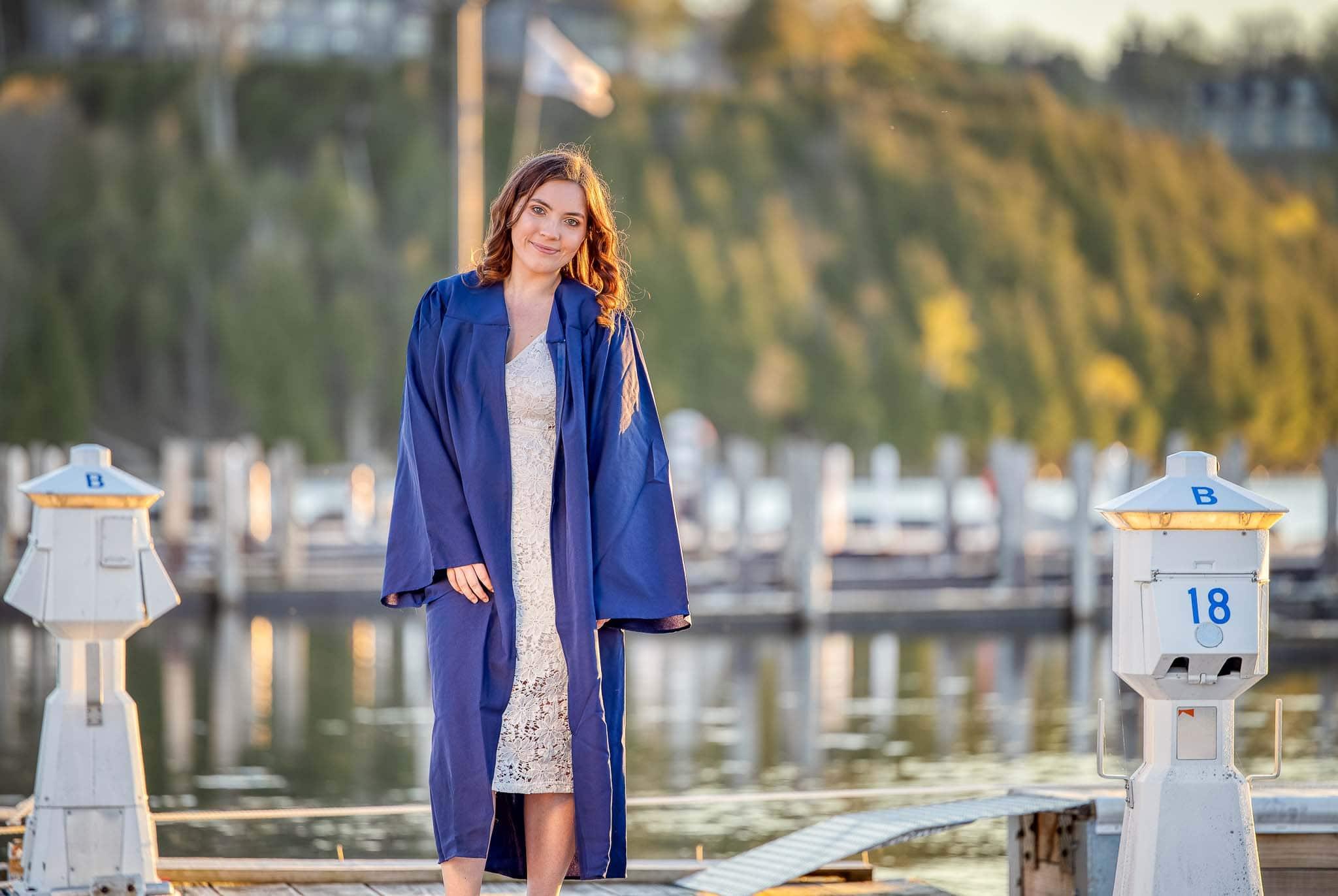 Sister Bay Graduation Photo