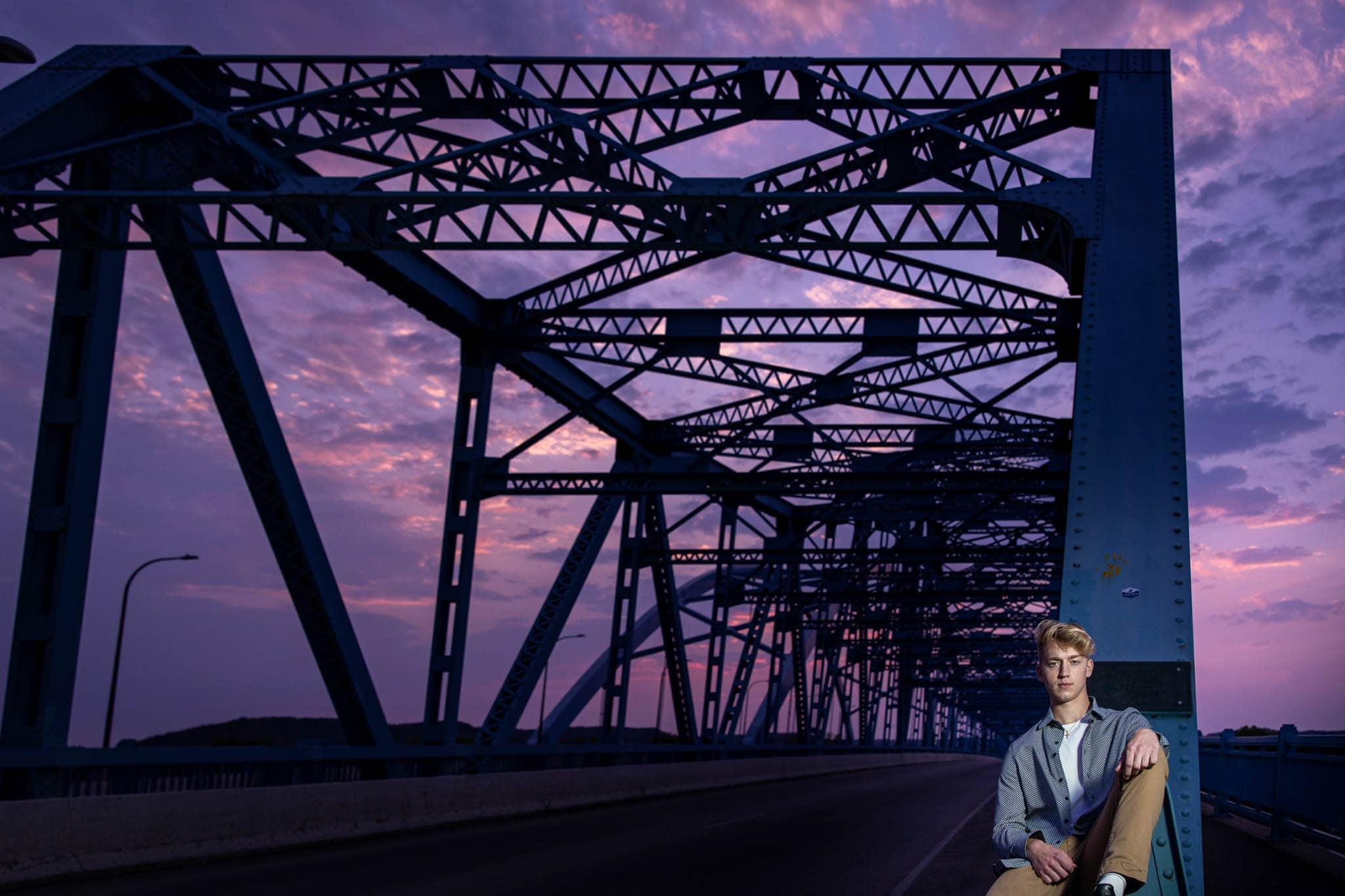 Cass Street Bridge La Crosse WI