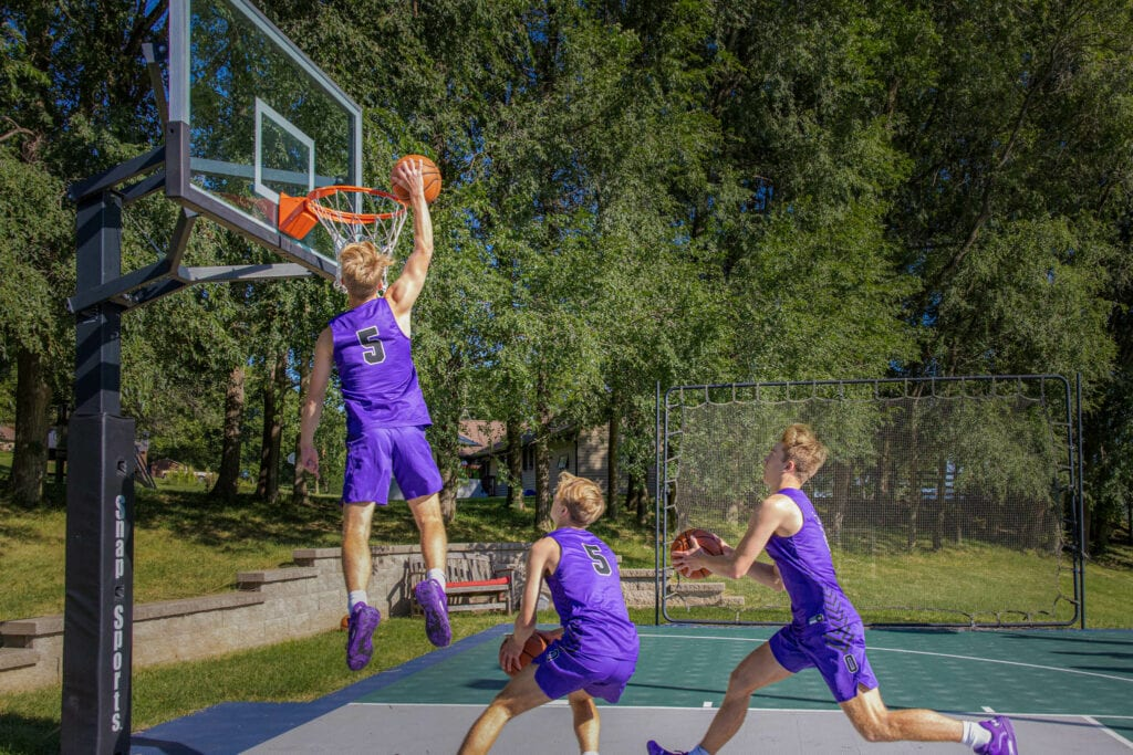 La Crosse Senior Portrait Basketball