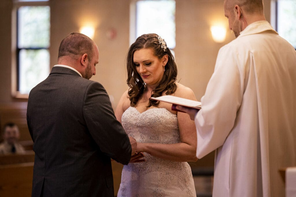 Putting on the ring by La Crosse, WI Photographer Jeff Wiswell