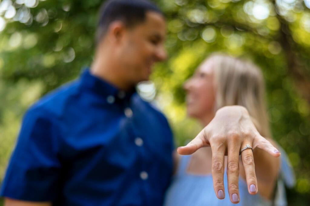 Riverside Park La Crosse Engagement by La Crosse, WI PhotographerJeff Wiswell of J.L. Wiswell Photography