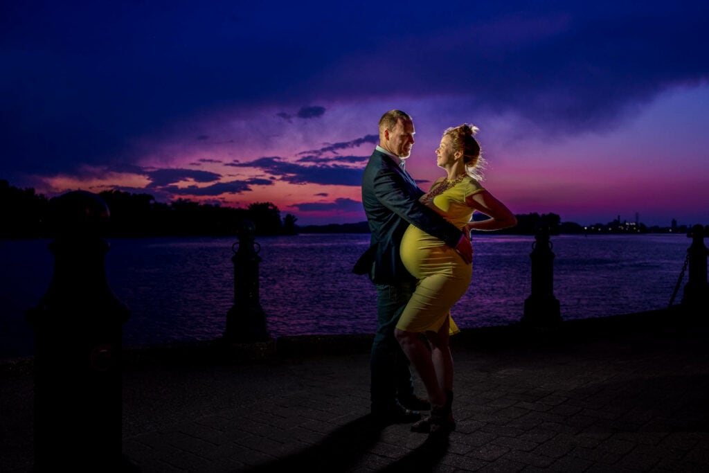 Riverside Park La Crosse by Photographer Jeff Wiswell